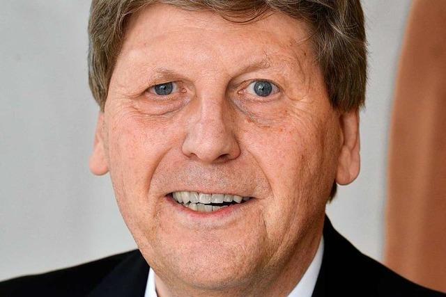 Bernhard Appel mit dem Bundesverdienstkreuz ausgezeichnet