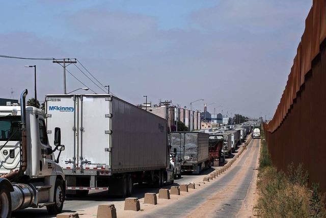 Einigung in letzter Minute: Vorerst keine US-Strafzölle gegen Mexiko