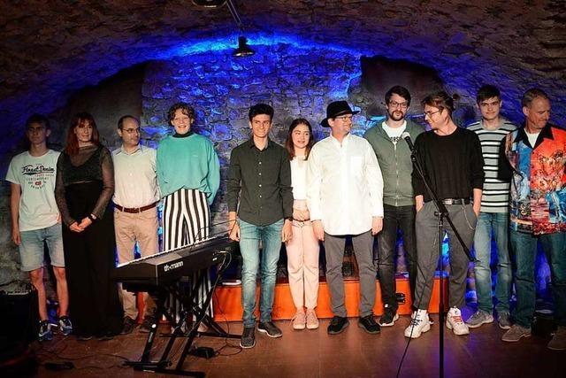 Zehn Künstler trauten sich auf die offene Bühne in Grenzach-Wyhlen