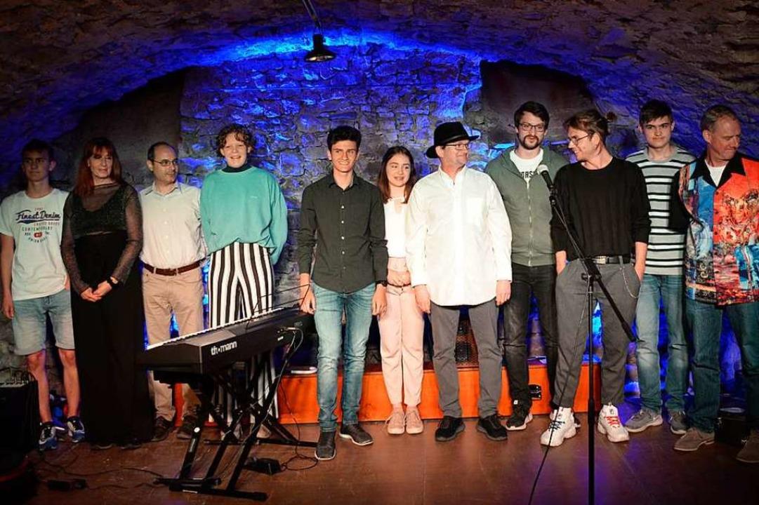 Die Teilnehmer der Open Stage  | Foto: Jasmin Radel
