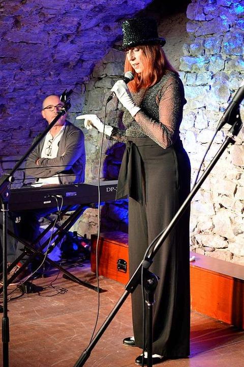 "Karin Münch mit ""Cabaret""  | Foto: Jasmin Radel"