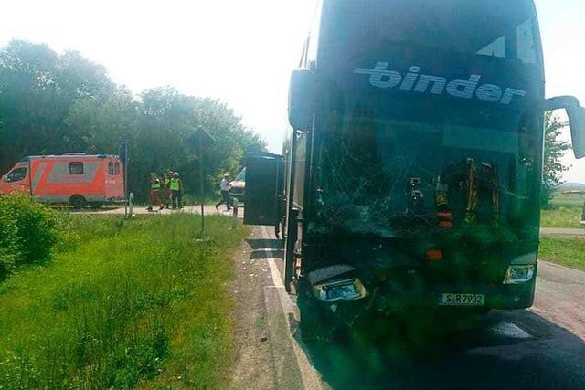 Schüler aus Baden-Württemberg bei Unfall mit Reisebus in Thüringen verletzt