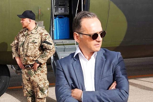 Maas hält Anti-IS-Einsatz der Bundeswehr für