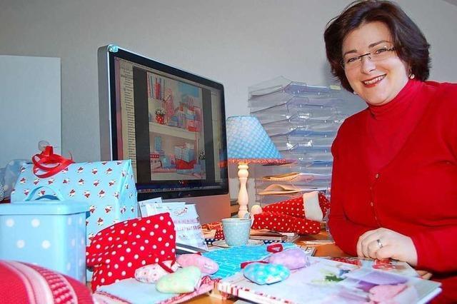Kreative Stoffdesigns: Emanuela Pesché will die Stoffwelt erobern