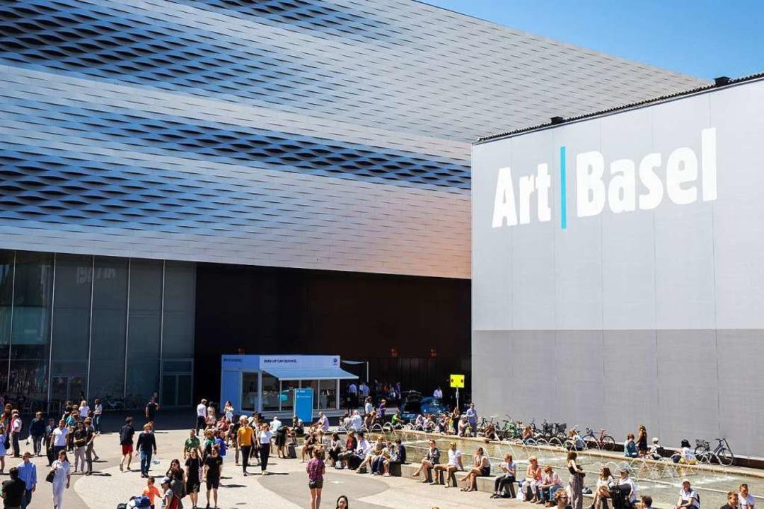 Die Art Basel versetzt die Stadt einmal mehr ins Kunstfieber.  | Foto: Art Basel