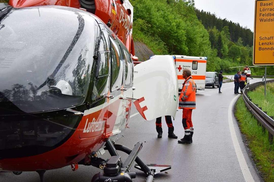 Tödlicher Unfall bei der Seesteige am Sonntag   | Foto: kamera24