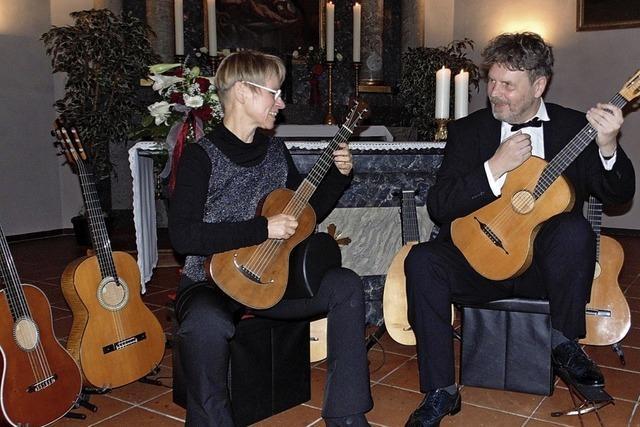 Gitarrenmusik aus verschiedenen Jahrhunderten