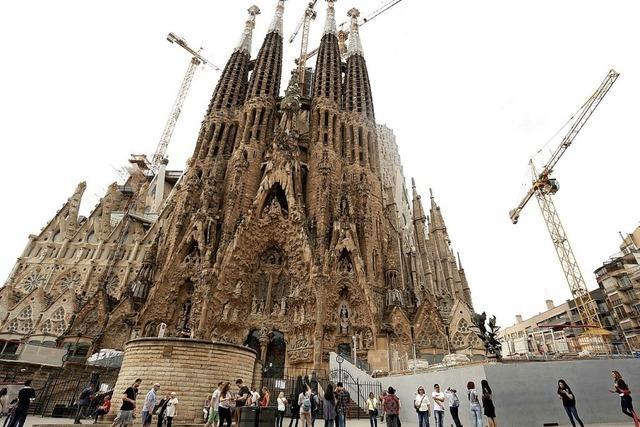 Genehmigung für Sagrada Familia
