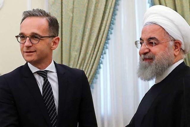Maas hofft nach Iran-Reise auf Fortbestand des Atomabkommens