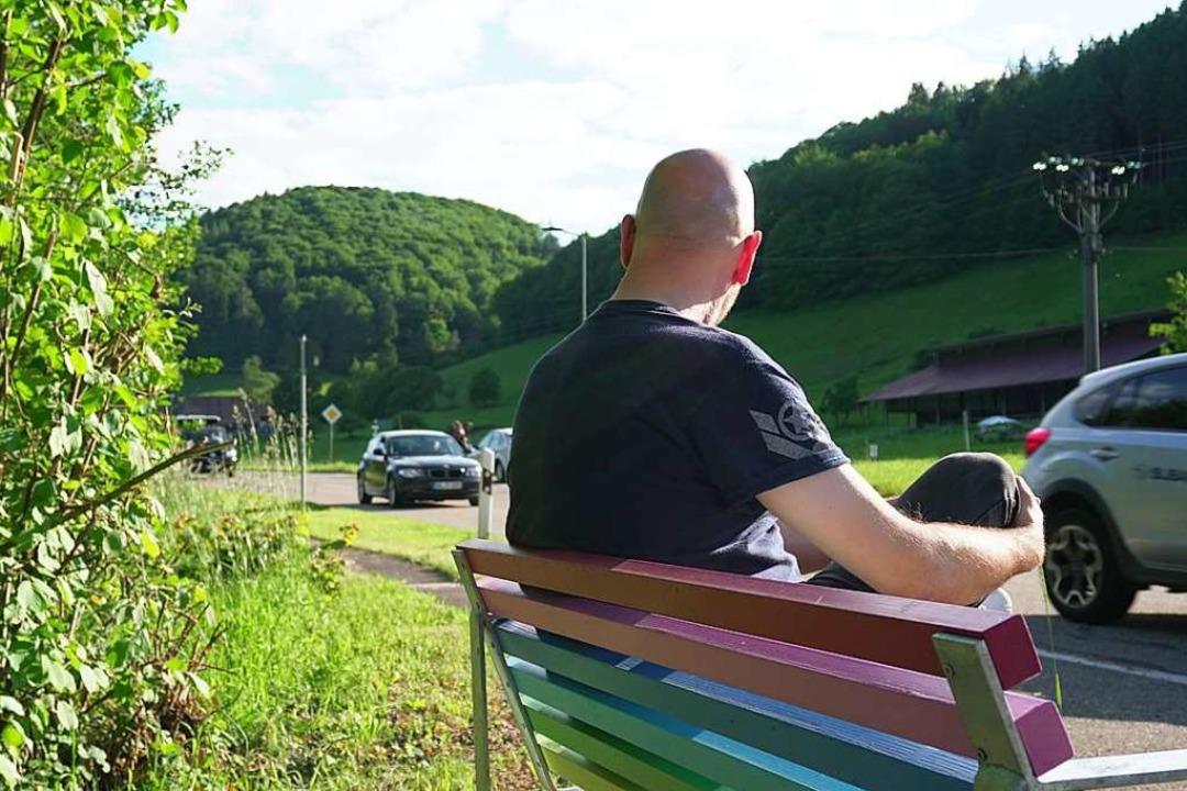 Selbstversuch im Tal der Schutter: BZ-...itarbeiter gemeinsam gestrichen haben.  | Foto: Emre Akcay