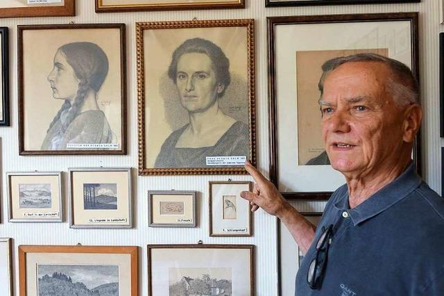 In Wieslet wird die Erinnerung an den Maler Ernst Schleith wach gehalten