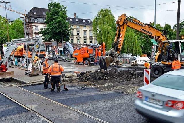 Verkehrschaos an der B31-Baustelle im Freiburger Osten bleibt aus