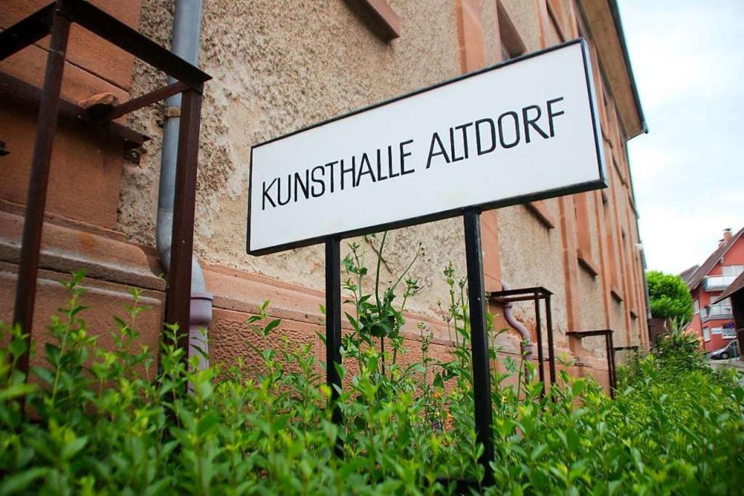 Die frühere Synagoge, heute Kunsthalle...gsten beginnen die Sanierungsarbeiten.    Foto: Erika Sieberts