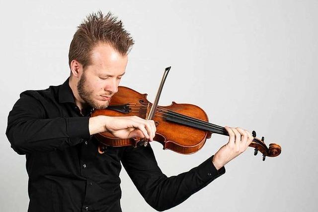 Der Jungmusiker Sebastian Heimann aus Weil am Rhein will Klassik wieder attraktiver machen