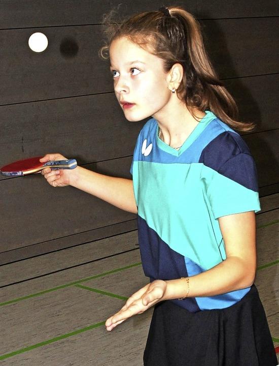 Angriffsspielerin mit gutem Vorhand-Topspin: Megan Cytacki  | Foto: Maier
