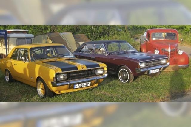 Ein Opel-Fan kam sogar aus Australien