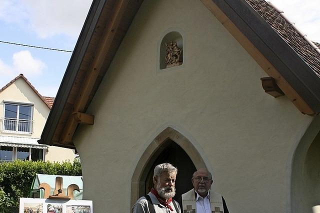 Traktoren vor ganz spezieller Kapelle geweiht