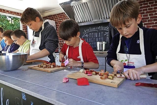 Gesundes Kochen mit Spaß als Zutat