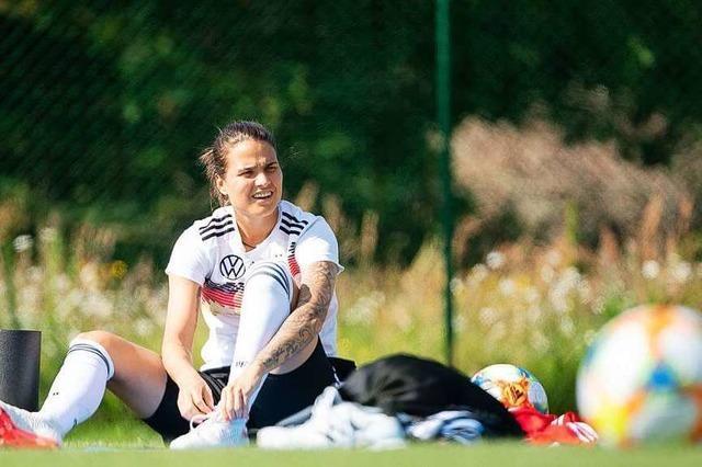 Top-Spielerin Dzsenifer Marozsan fällt wegen Zehenbruchs für den Rest der WM-Vorrunde aus