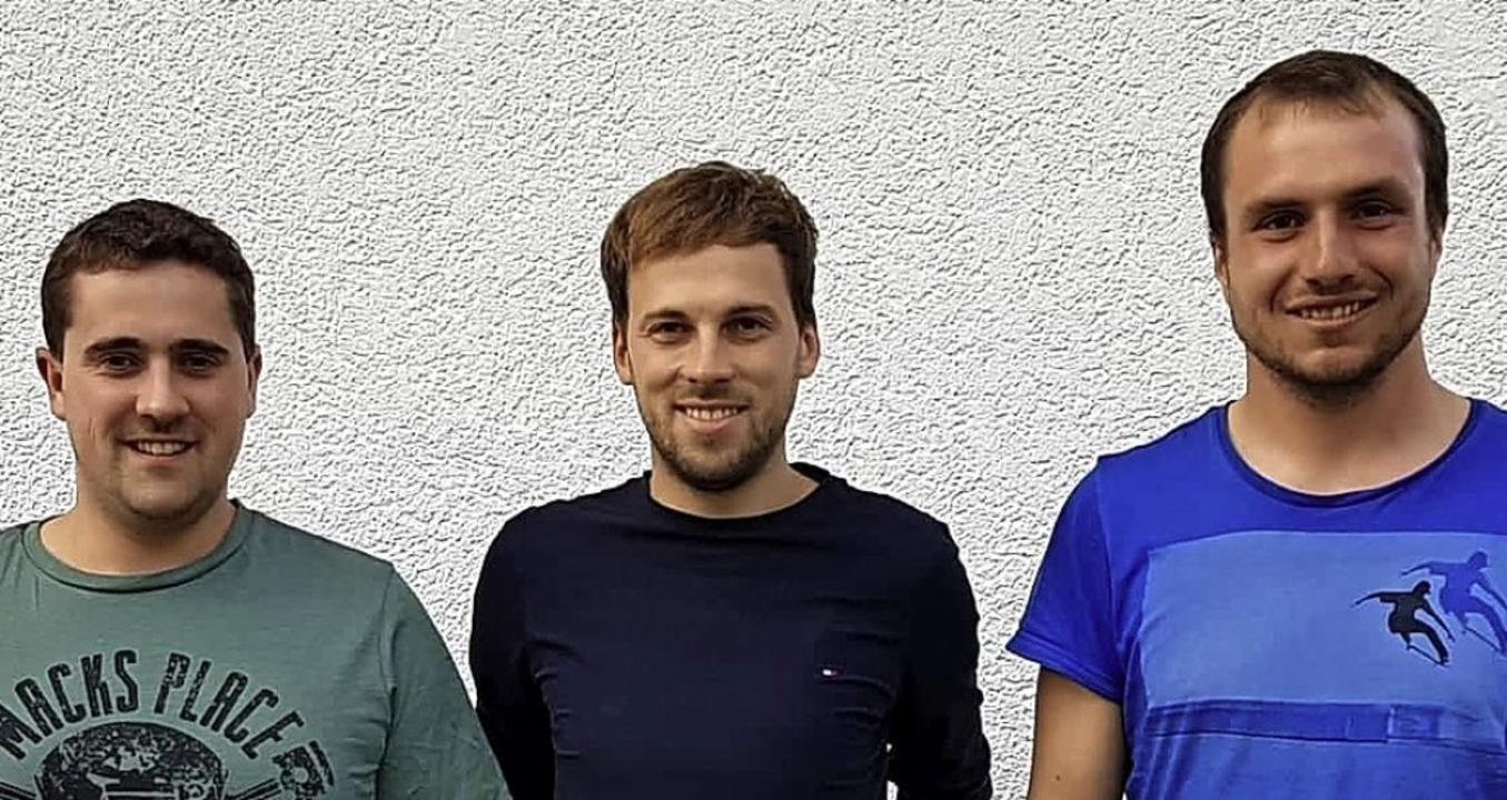 Der neugewählte  Vorstand: Vorsitzende...ks) und Kassierer Christoph Waldvogel   | Foto: Sume Wetter