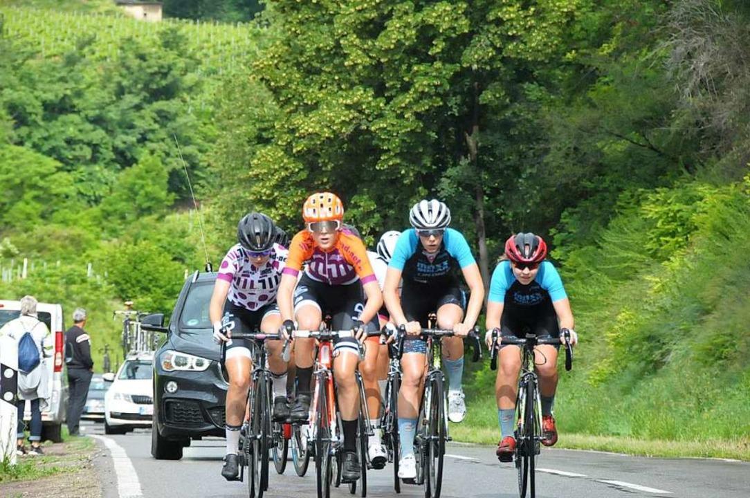 Die Frauen und Juniorinnen boten bei i...igarennen auch hochklassigen Radsport.  | Foto: Sebastian Ehret