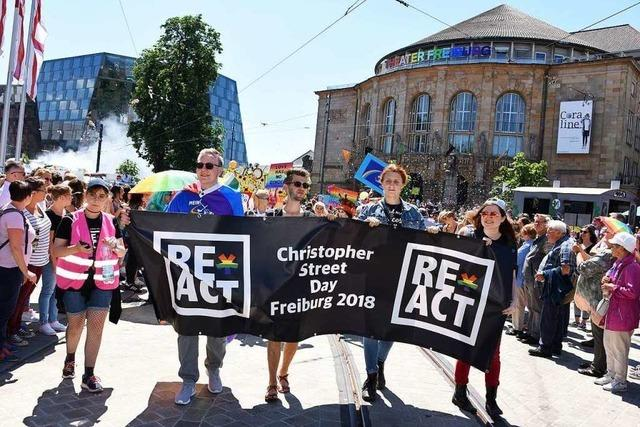 CSD-Veranstalter in Freiburg erwarten so viele Teilnehmer wie nie zuvor