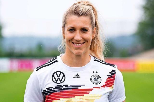 Nationalspielerin Verena Schweers: