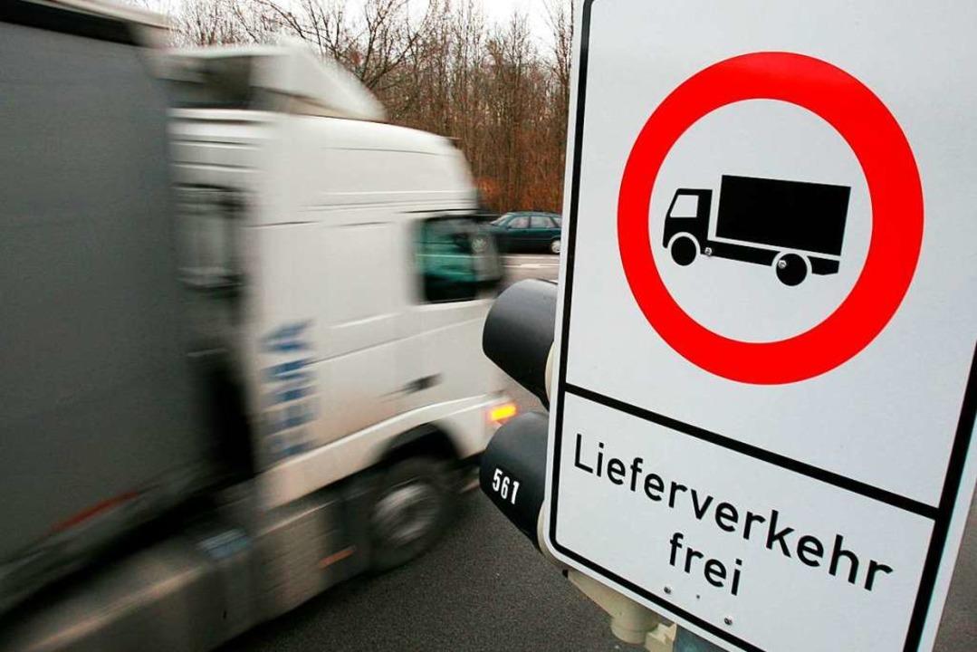 Durch Glottertal dürfen in Zukunft kei...den demnächst aufgestellt. Symbolbild.  | Foto: Tobias Hase