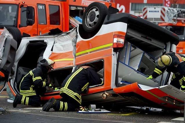 Das Unfallrisiko für Retter ist hoch – aber genaue Zahlen gibt es nicht