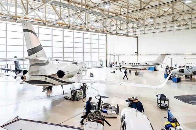 Der Air Service Basel kümmert sich um die, die mit dem eigenen Flugzeug anreisen