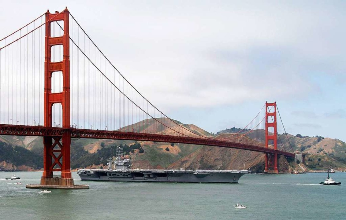 Die Golden Gate Bridge in San Francisco.  | Foto: George Nikitin