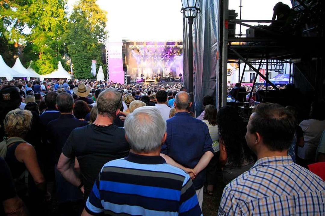 Mit rund 5000 zahlenden Zuschauern war...s-Auftritt im Sommer 2016 ausverkauft.  | Foto: Patrik Müller