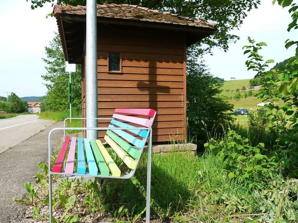 Für den Rührberg sei eine Mitfahrbank ...Option, meint Tobis Benz (Symbolbild).  | Foto: Karl Heidegger
