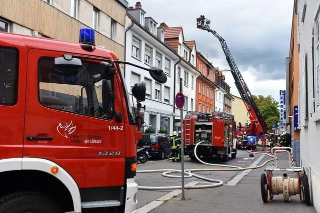 Die Lörracher Feuerwehr soll begeistern, wünscht sich Kommandant Manuel Müller