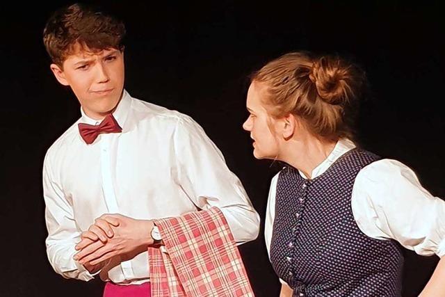 Gundelfinger Schüler überzeugen mit einem lebendigen Theaterstück