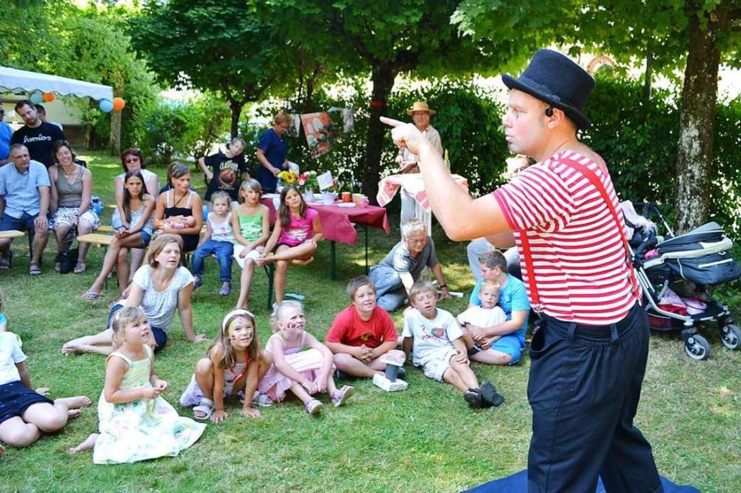 Clown Pat ist gern gesehener Gast beim Picknick der Caritas (Archivfoto)  | Foto: Paul Berger
