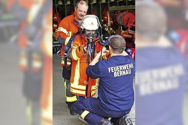 Aufregender Besuch bei der Feuerwehr
