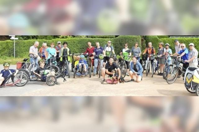 Gottes Geist bewegt Radfahrer nach Hasel