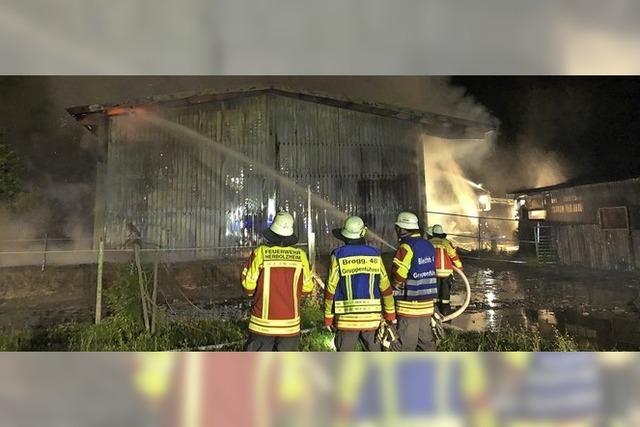 Vier große Brände in vier Wochen