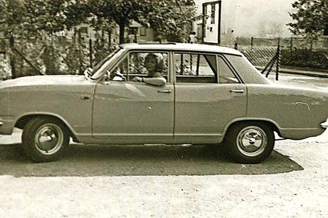 Mit diesem Auto startete 1969 die Fahrschule in Schallstadt