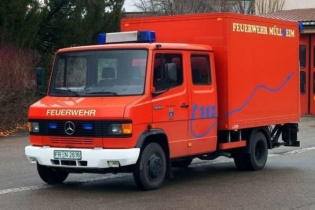Die Müllheimer Feuerwehr bekommt einen neuen Gerätewagen
