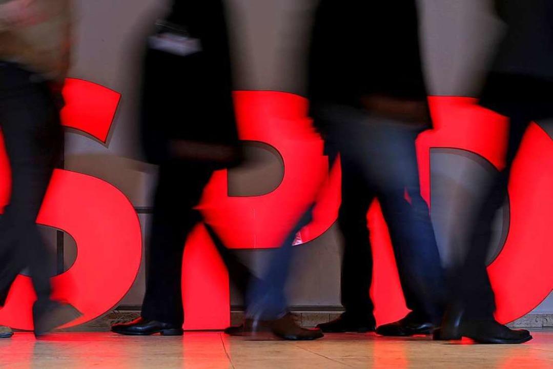 Noch ist die SPD die mitgliederstärkst...tei Deutschlands. Aber wie lange noch?  | Foto: Jan Woitas (dpa)