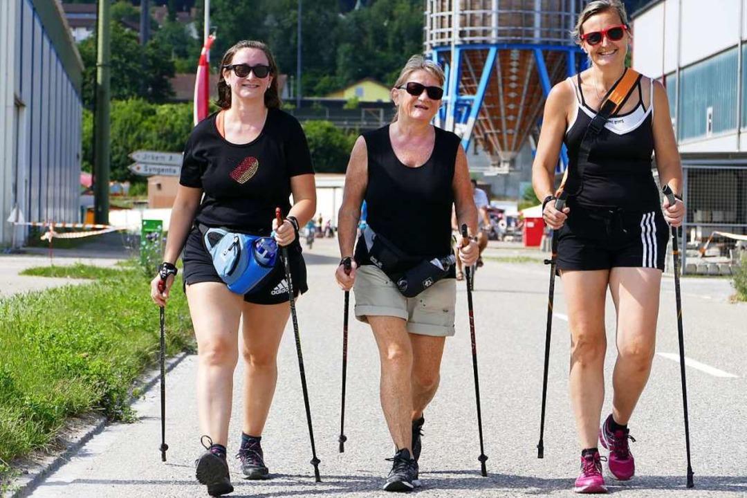 Auch Fußgänger sind beim Slow-up willkommen.  | Foto: Jannik Jürgens