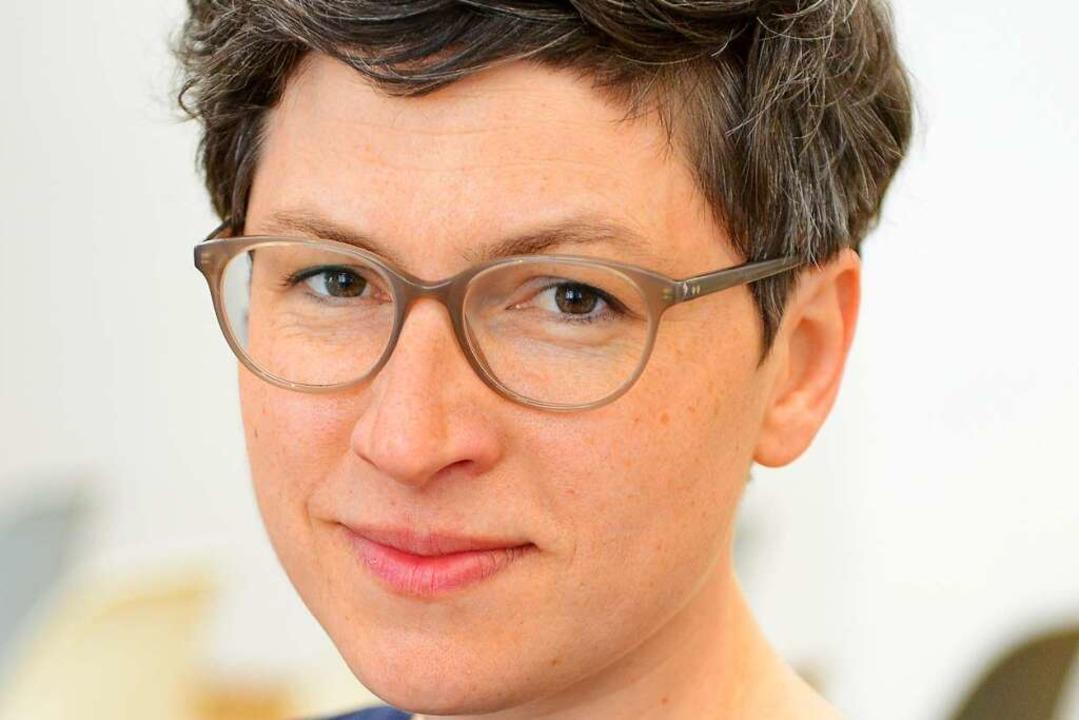 Birgit Güde, 38, studierte in Paris un...ge Programm im Literaturhaus Freiburg.  | Foto: Rita Eggstein