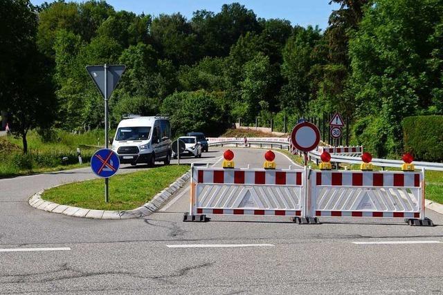 Die Auffahrt Schopfheim-Ost wurde