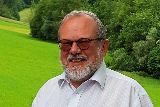Siegfried Hänselmann hat die Kommunalpolitik in Schuttertal immer Spaß gemacht