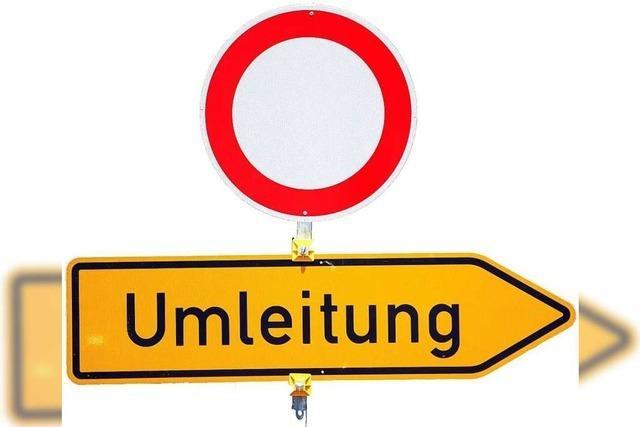 Rheinfelden: Sperrung und Umleitung für Tiefgaragenbau