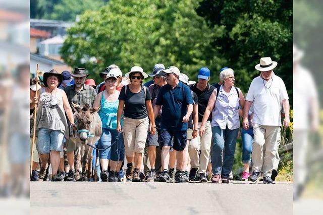 Am 29. Juni pilgern Christen auf dem Jakobusweg – Abschluss am Europa-Park