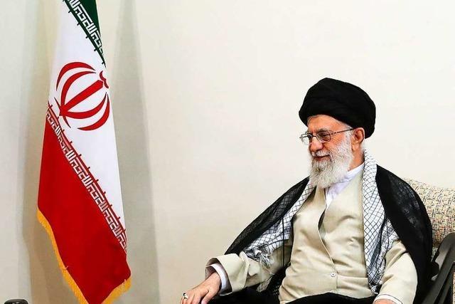 Irans oberster Führer lehnt Verhandlungen mit USA deutlich ab