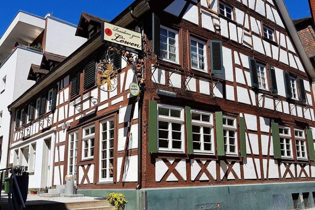 Das Restaurant Löwen in Lahr  | Foto: Karl Kovacs